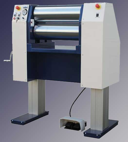 Adjustable Height - Electric Roll Mill - Raised Up