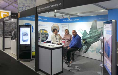 PST and Synergy Devices at Farnborough Air Display 2016