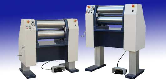 Adjustable Height - Vertical Electric Roll Mill - PST-HV