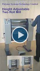 video of Height Adjustable Vertical Electric Roll Mill
